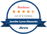 Avvo Reviews - Jeannifer Lynne Alexander, 4.5 Stars